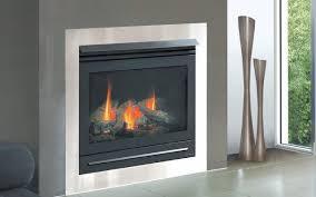 balanced flue gas log fire