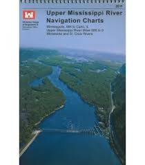 Army Corps Of Engineers River Charts Us Army Corps Of Engineers Upper Mississippi River Chart Book Maryland Nautical
