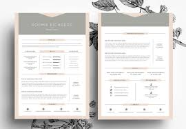 Resume And Business Card Template By Emily S Art Boutique On