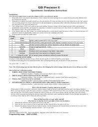 10 Pulse Speedometer Calibration Chart Gbi Precision Gb Instruments Inc