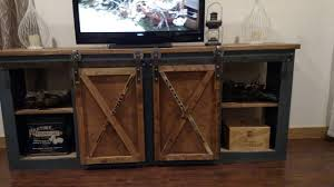sliding door console table  youtube