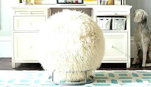 fuzzy desk chair faux fur office chair teen faux fur desk chair fur desk chair cushion