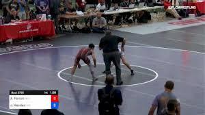 60 Kg Rr Rnd 1 Anthony Ferrari Best Trained Vs Jesse Mendez Region Wrestling Academy