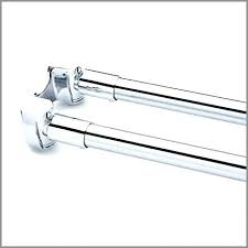 dry tension rod brass straight double shower curtain rods fresh smart curved no drill argos