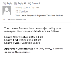 Application For Leave To Manager Part 4 Testing The Application