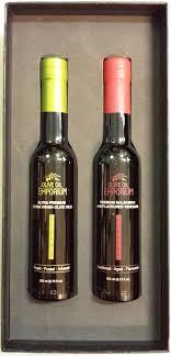 gourmet gift duo olive oil and balsamic vinegar gift set