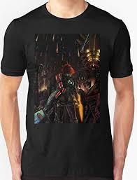 Mass Effect Star Chart Mass Effect Shepard Told Us T Shirt Custom Amazon Com