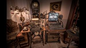 steampunk office. Steampunk Office. Computer Office E