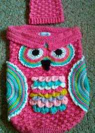 Free Owl Cocoon Crochet Pattern Extraordinary Crochet Cute Baby Owl Cocoon With Pattern