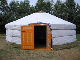picture of build yourself a portable home a mongolian yurt