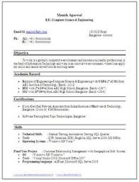 Best Resume Format Mechanical Engineers Pdf Best Resume For Freshers