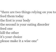 Eating Disorder Recovery Quotes Cool If Only It Was This Simple Anorexia Eatingdisorder Recovery