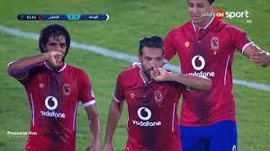 أهداف مباراة الاهلي المصري 2 - 0 الوحدة الاماراتي | البطولة العربية 2017 -  YouTube