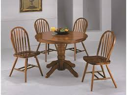 Crown Mark Dining Room Farmhouse Round Dining Four States