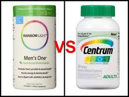 Where To Buy Rainbow Light Vitamins Rainbow Light Mens One Vs Centrum Multivitamin Review