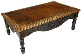 western coffee table southwestern round coffee tables