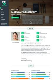 15 Best Html Resume Templates For Awesome Personal Sites For