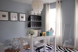 home office paint. Home Office Paint Colors With Benjamin Moore Smoke That Combined Zebra Pattern Rug And White Table O