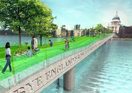 Small Picture Unbuilt London A Garden Bridge across the Thames IanVisits