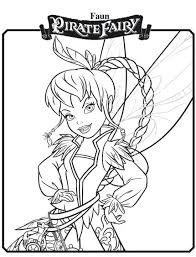 disney fairies coloring pages free printable fairy coloring pages printable s the pirate fairy coloring pages
