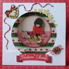 A Passion For Cards How To Make A Belle And Boo Christmas