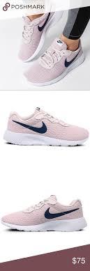 Nike Tanjun Size Chart Nike Tanjun Womens Shoes Rose Navy Blue Shoes Are Brand New