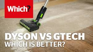 dyson v10 vs gtech pro glitter and lentil challenge