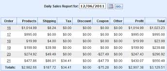 sales daily report sales reports