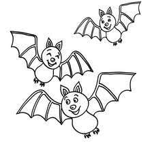 Small Picture Scary bat coloring pages Hellokidscom