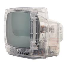 See Thru Tv Space Age Electronics Contemporist Icon