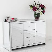 ... Mirrored Sideboard Mirrored Credenza For Sale Endearing Mirrored  Sideboard With Knobs Silver Color And