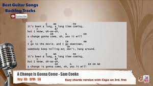 A Change Is Gonna Come - Sam Cooke ...