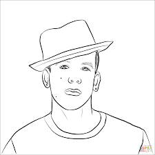 Pop Stars & Celebreties coloring pages | Free Coloring Pages
