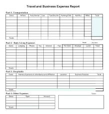 Simple Expense Report Template Expense Report Spreadsheet Template