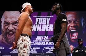 Tyson Fury vs. Deontay Wilder Fight in ...