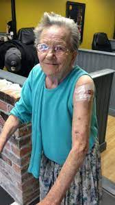 Awesome great-gran Sadie Sellers sneaks out of care home to get first  tattoo – at the age of 79 | Metro News