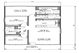 Apartments 1400 Sq Ft House Plans Ranch Style Plan Beds House Plans Ranch