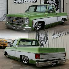 76 Chevy C10 by @gasmonkeygarage #Chevy #C10 #Truck #Bagged ...