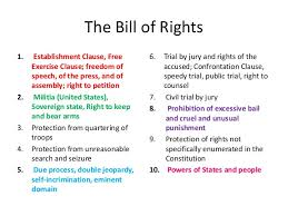 Bill Of Rights Powerpoint Bill Of Rights