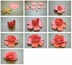 Rose Paper Flower Making Duplex Paper Rose Flower Major Magdalene Project Org