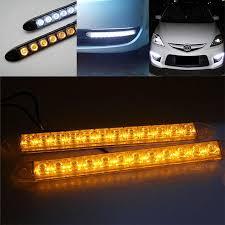 Automotive Led Light Strips Unique 32x Flexible 132 Led Light Bar Auto Drl Lens Led Lights Strip
