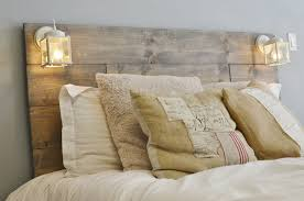 Image of: modern-rustic-headboard-plans