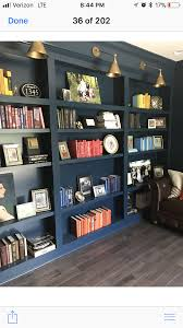 Bookcase Lighting Options Black Built In Shelves With Lighting For Next To Half Wall