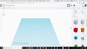 Tinkercad 3d Design Software Week 3
