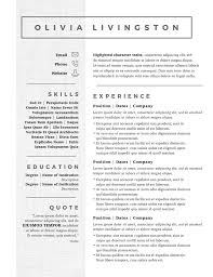 Free Resume Templete Free Resume Templates Badass Career Resources For 2019