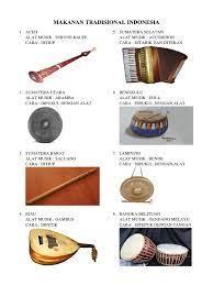 Alat musik tradisional kalimantan timur. Alat Musik Tradisional Dipukul Greatnesia
