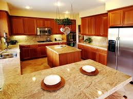 stone tile kitchen countertops. Stone Tile Countertops In A Custom Kitchen