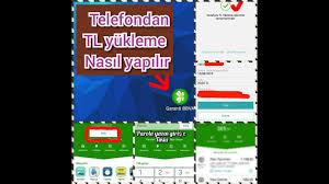 Telefon dan TL yükleme nasıl yapılır Garanti BBVA - internet bankacılığı  kullanarak tl yüklemek - YouTube
