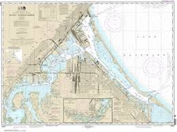 Lake Superior Depth Chart 14975 Duluth And Superior Harbors And Upper St Louis River Nautical Chart