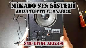 Mikado, Ses Sistemi Arıza Tespit ve Onarımı, 2+1 Ses Sistemi Tamiri, SMD  Diyot Arızası, - YouTube